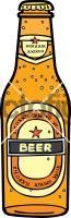 Beer BottleFreehand Image