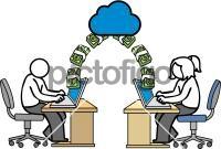 Money transferFreehand Image
