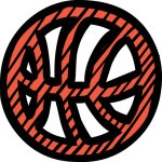 Basketball freehand drawings