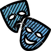 Theatre MaskFreehand Image