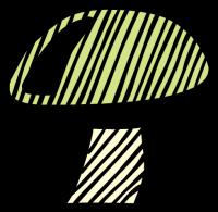 MushroomFreehand Image