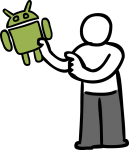 Android freehand drawings