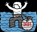Debt freehand drawings