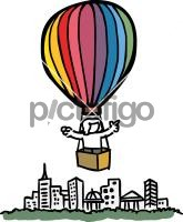 Hot Air BalloonFreehand Image