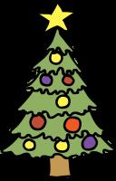 Christmas TreeFreehand Image