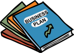 Business Plan freehand drawings