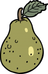 pear freehand drawings