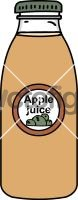 Apple juiceFreehand Image