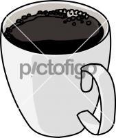 Brewed CoffeeFreehand Image