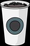 Brewed Coffee freehand drawings