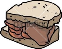 Bacon SandwichFreehand Image