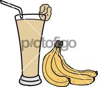 Banana juiceFreehand Image