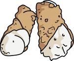 Cannoli freehand drawings