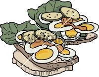 Egg SandwichFreehand Image