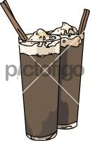 Iced CoffeeFreehand Image