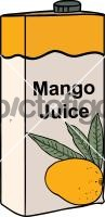 Mango JuiceFreehand Image