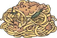 Pasta Fresh SpaghettiFreehand Image