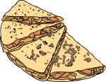 Quesadilla freehand drawings