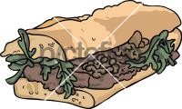 Steak SandwichFreehand Image