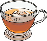 Tea freehand drawings