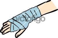 Hand bandageFreehand Image