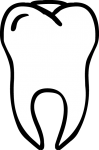 tooth freehand drawings