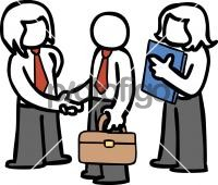 Business DealFreehand Image
