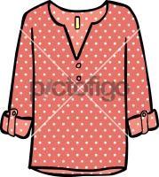 Patterned tunic womenFreehand Image