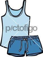 Pyjamas womenFreehand Image