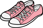 Shoes women freehand drawings