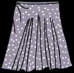 Short skirt women freehand drawings