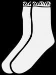 Socks women freehand drawings