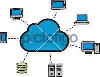 Cloud ComputingFreehand Image