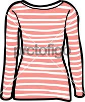 Striped top women