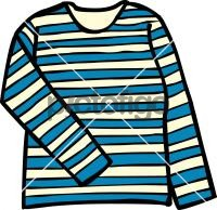 Striped top womenFreehand Image