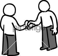 HandshakeFreehand Image