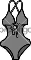 Swimsuit womenFreehand Image