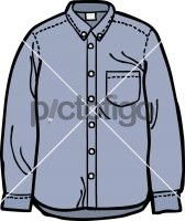Denim shirt menFreehand Image