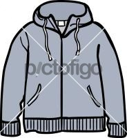 Hooded jacket menFreehand Image