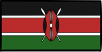 Kenya freehand drawings