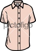 Short sleeved shirt menFreehand Image