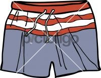 Swim shorts menFreehand Image