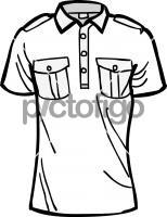 Tennis shirt menFreehand Image