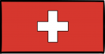 Switzerland freehand drawings