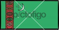 TurkmenistanFreehand Image