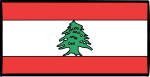 Lebanon freehand drawings