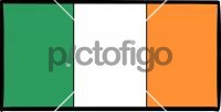 Republic Of IrelandFreehand Image
