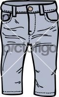 Jeans kidFreehand Image