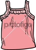 Jersey top girlFreehand Image