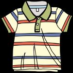 Polo Shirt boy freehand drawings